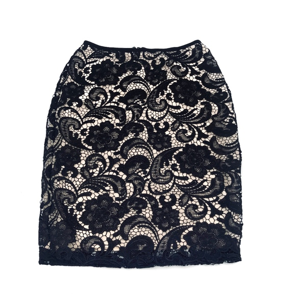 H&M Dresses & Skirts - H&M Black Lace Skirt